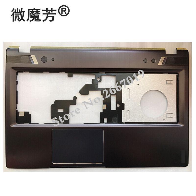 Nueva carcasa para Lenovo para Ideapad Y580 Y580A Y580P cubierta superior con reposamanos AM0N0000500 reemplazo de la computadora
