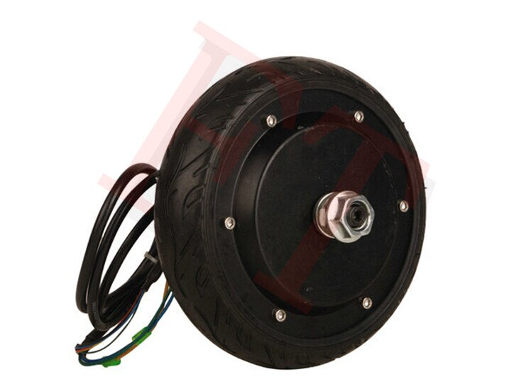 "36 V 350 W 6,5 ""ohne bremse elektrische rad hub motor bürstenlosen hub motor skateboard elektrische motor"