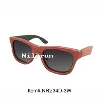 pink skateboard wood eyewear sunglasses