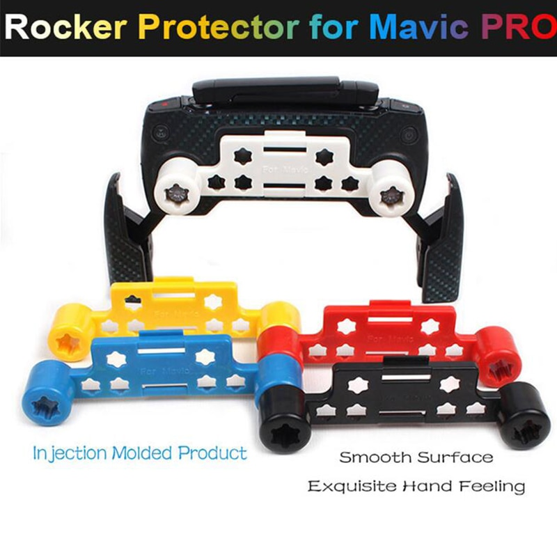 1pc dji mavic pro controle remoto conectado rocker fixer joystick protetor para dji faísca & mavic pro zangão acessórios