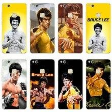 Bruce lee cubierta de silicona suave TPU funda del teléfono para Huawei p8 P9 P10 P20 Lite Mate 9 10 Honor V9 9 Mate 9 10 Por P9 P20 Plus