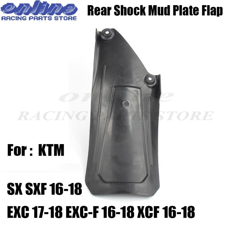 Мотоцикл MX Задний амортизатор Mudlding Plate guard fender Для KTM SX SXF 16-18 EXC 17-18 EXC-F 16-18 XCF 16-18 Dirt Bike