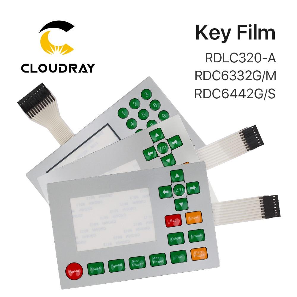 Ruida Membraan Schakelaar voor RDLC320-A RDC6332G RDC6332M RDC6442S RDC6442G Key Film Toetsenbord Masker