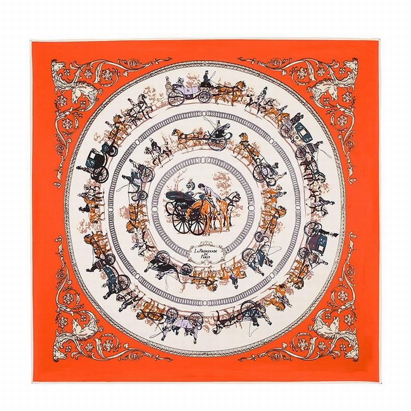 100% шелковый квадратный шарф, испанский шарф с принтом лошади, оригинальный дизайн, евро шарф, хиджаб, шелковые шали, женский шарф