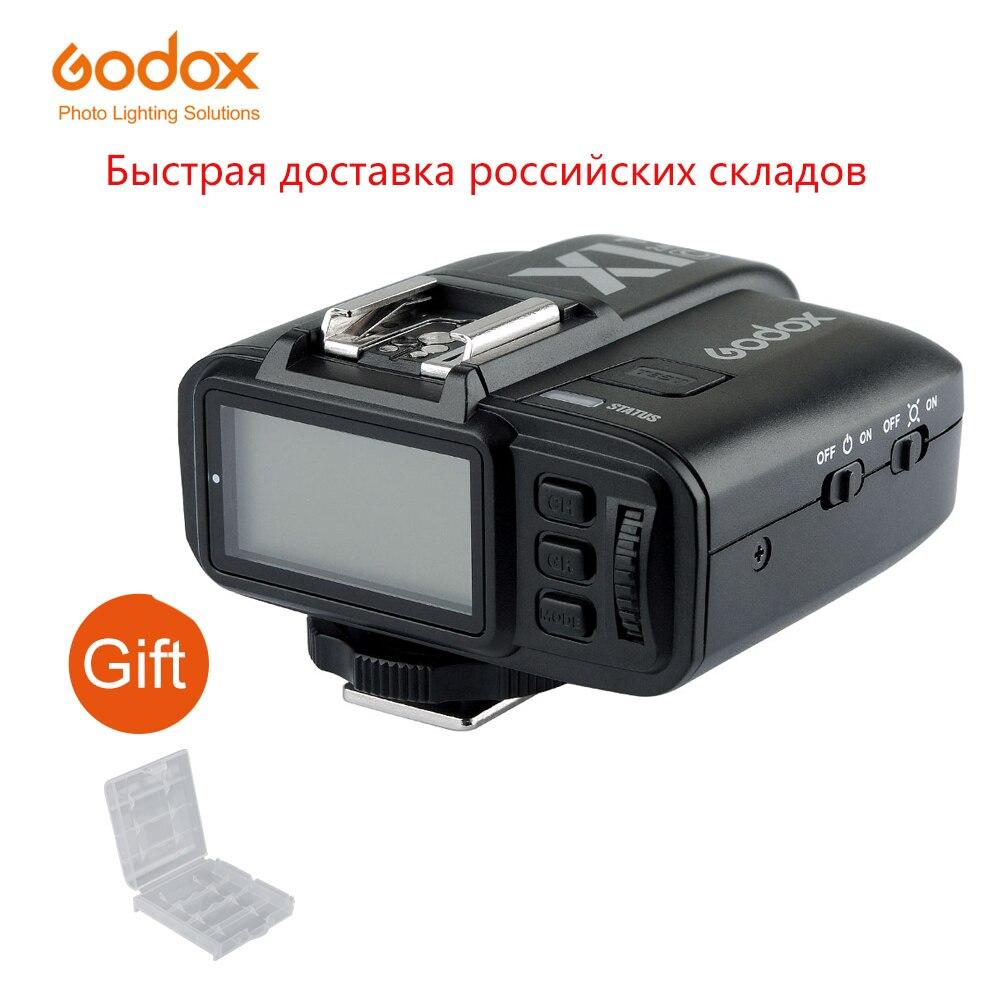 Godox X1T-C X1T-N X1T-S X1T-F X1T-O 2,4G inalámbrico TTL HSS transmisor de disparo de flash para Canon Nikon Sony Fujifilm Olympus Cámara