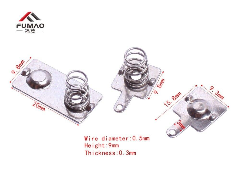 Изготовление на заказ AAA контакты батареи с компрессионной пружиной использования в печатной плате