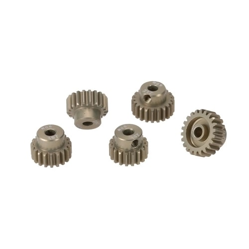 M0.6 3.175mm 18T 19T 20T 21T 22T 0.6 Module Pinion Motor Gear for 1/8 1/10 RC Off-road Buggy Monster Truck Brushed Brushless Mot enlarge