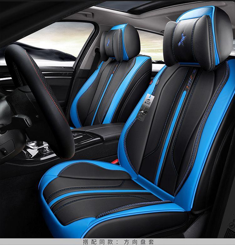 PARA O SEU GOSTO universal auto acessórios almofadas de assento de carro almofada de couro para GMC Savana Ferrari Lamborghini JAGUAR Inteligente seguro