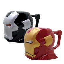 Avenger Ceramics Cup Ironman Mug Personality Lovers Coffee Milk Breakfast Office Drink Festival Creative Beautiful Gift