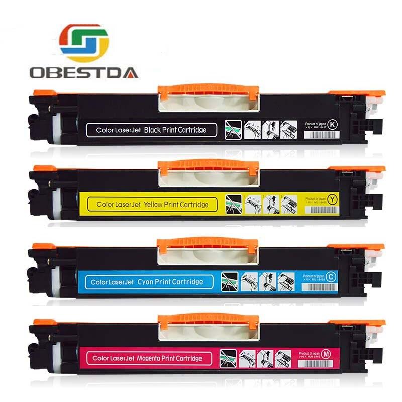 1 zestaw CE310 CE310A-313A 126A 126 kompatybilny z tonerem kolorowym kartridż do hp LaserJet Pro CP1025 M275 100 kolorowe urządzenie wielofunkcyjne M175a drukarki