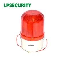 LPSECURITY     lumiere rouge clignotante pour systeme dalarme domestique gsm  90db  sirene stroboscopique