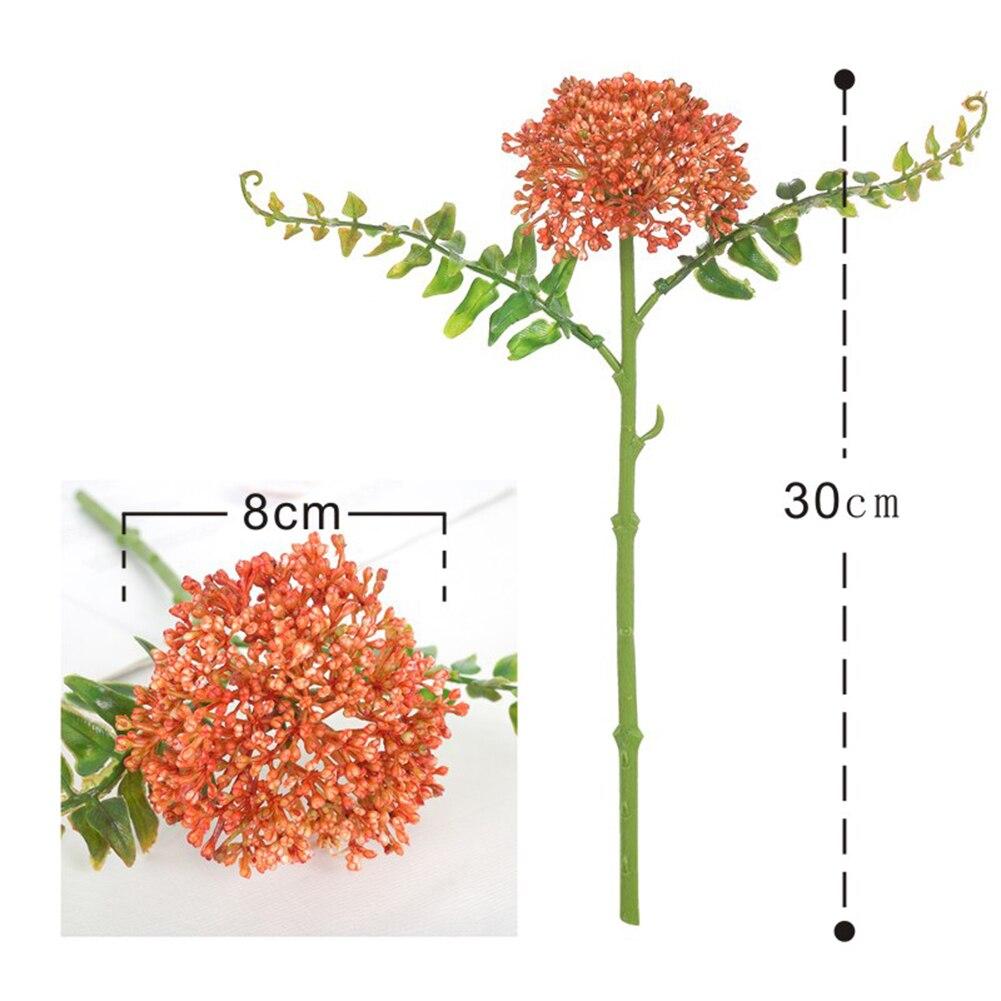 30cm Artificial Fake Western Rose Flower Peony Bridal Bouquet Wedding Home Decor plantas artificiales para fleur artificielle