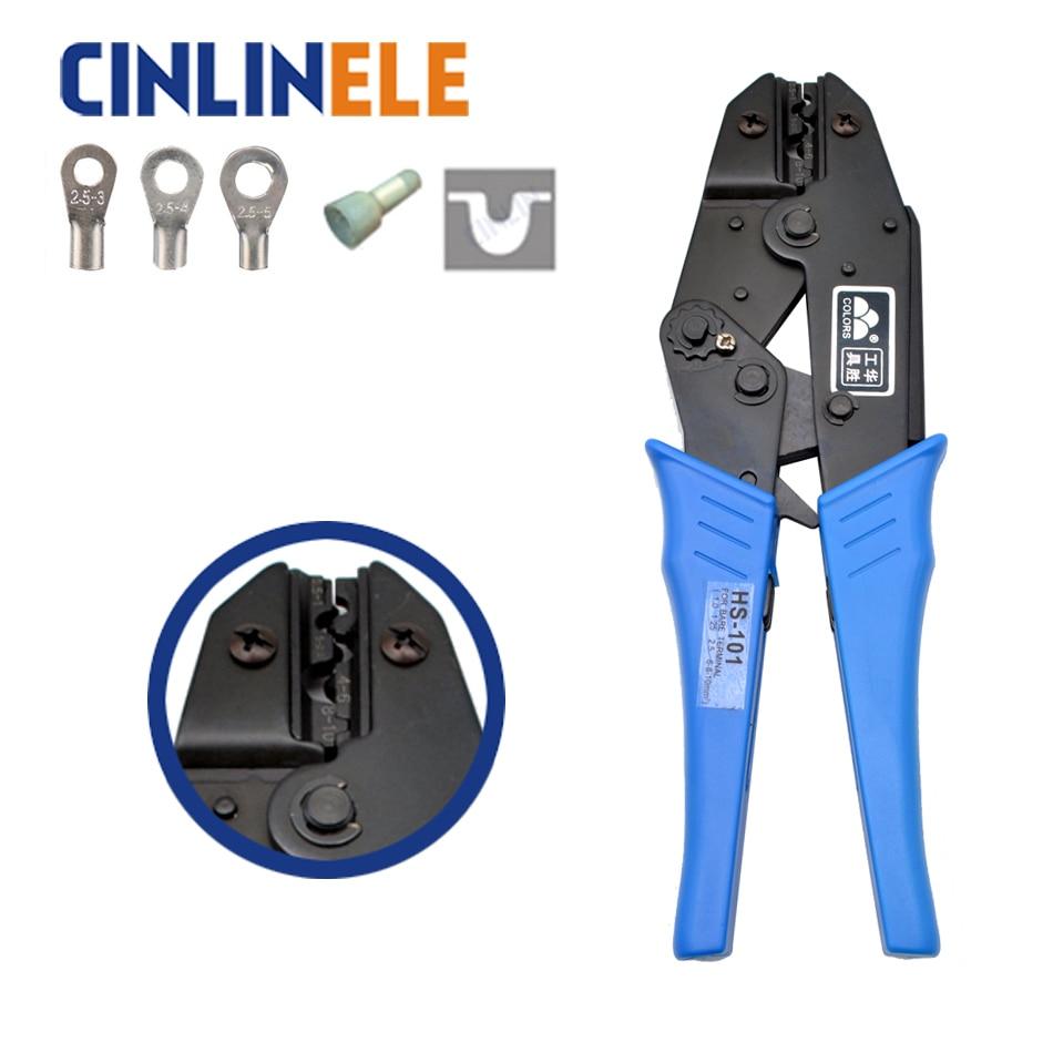 SN-101 1.5-10mm2 15-7AWG MINI TYPE SELF ADJUSTABLE CRIMPING plier electrical terminals crimper tools crimp tool