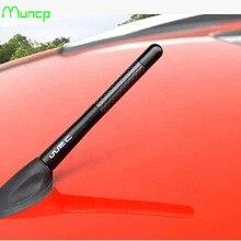 Antenne de voiture universelle Muncp FM AM Radio en Fiber de carbone antenne de voiture courte pour Dodge voyage JUVC/chargeur/DURANGO/CBLIBER/SXT/DART