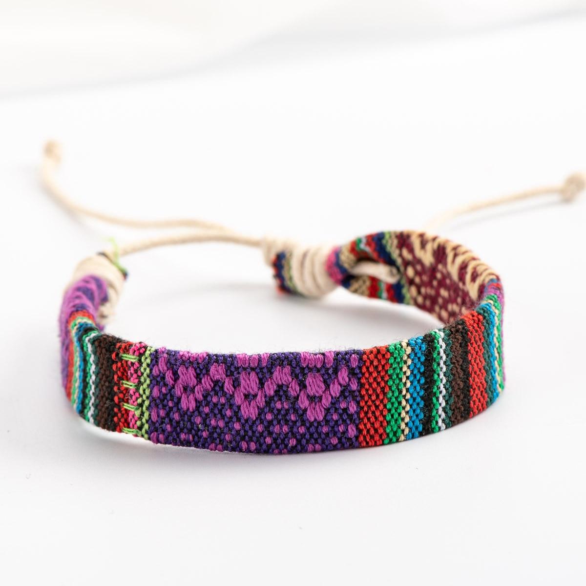 Браслет из веревки ручной работы, меморский браслет, классический стиль, винтажные подвески, веревки, браслеты # HY427