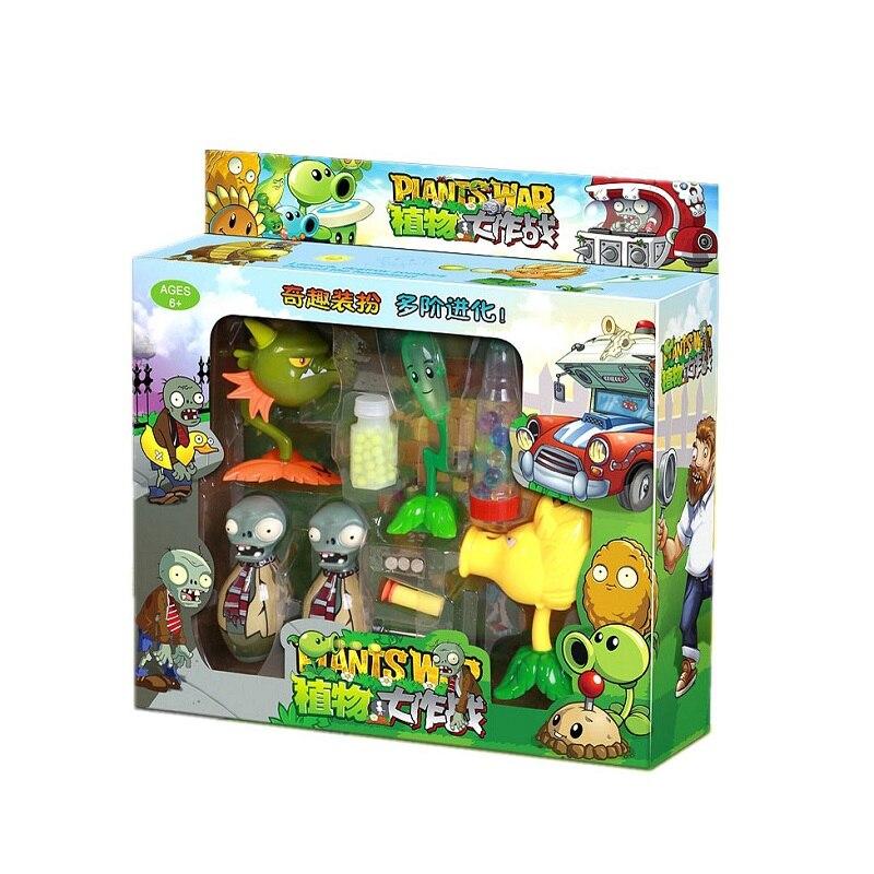 Plantas de PVZ vs Zombies Snap dragón PVC figura de acción modelo de juguete plantas Vs Zombies Brinquedos niños snap dragón muñecas regalo de cumpleaños