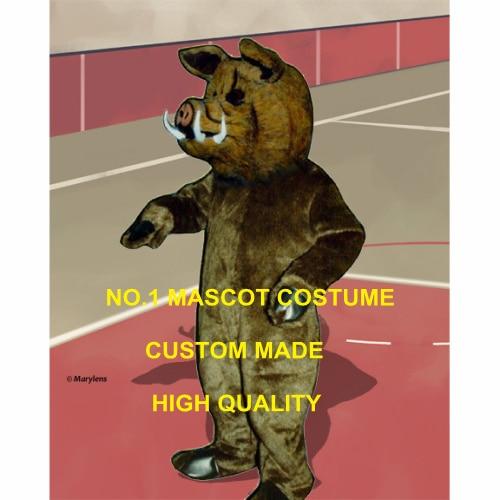 Disfraz de Mascota de jabalí salvaje de piel profesional personalizado disfraz adulto cerdo mascota temática disfraz de anime Cosplay elegante vestido para deportes 1996