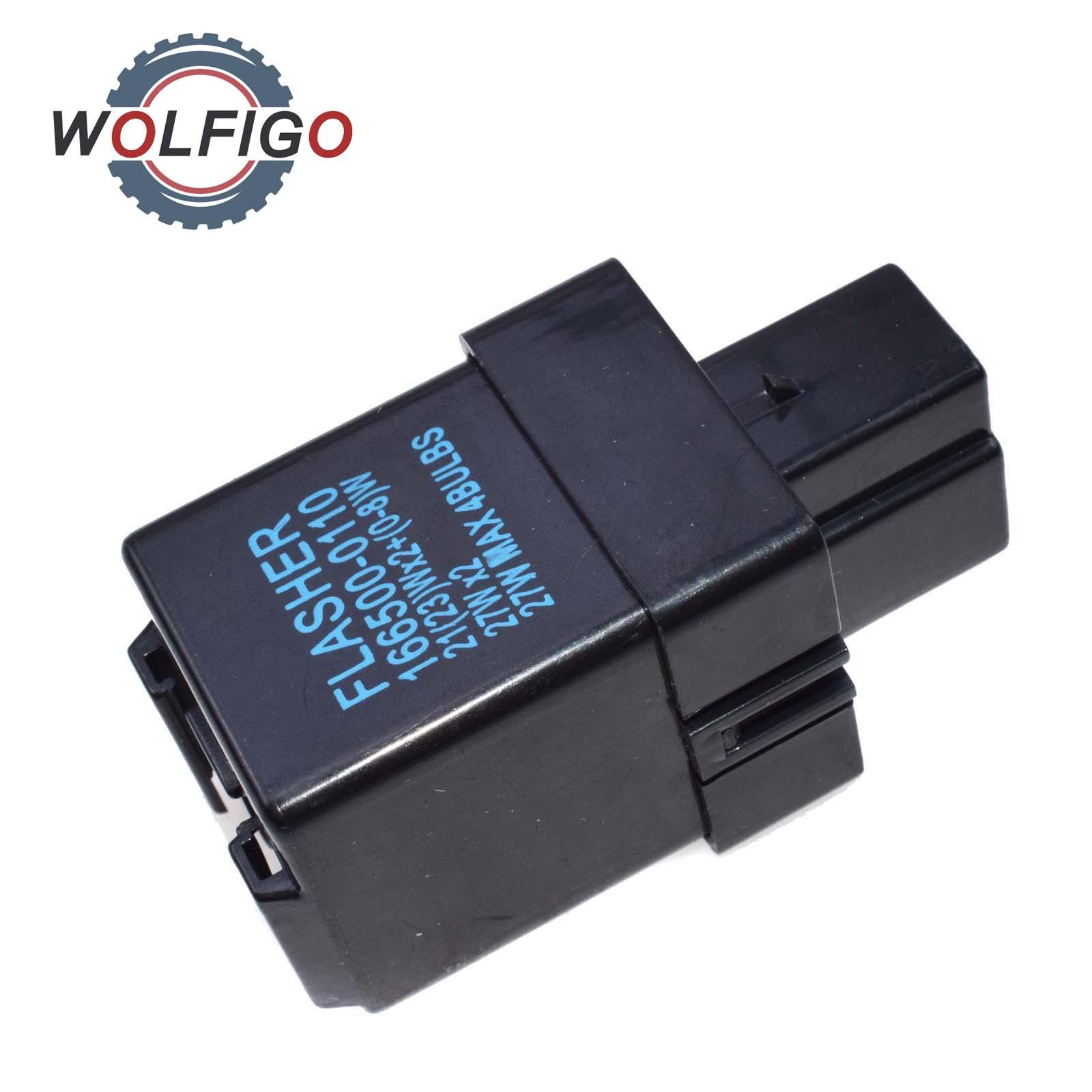 WOLFIGO 3-Pin señal Flasher Relay para Toyota 4 RUNNER Corolla Toyota Camry Tercel Celica LANDCRUISER PICKUP 1984- 1989, 81980-16010