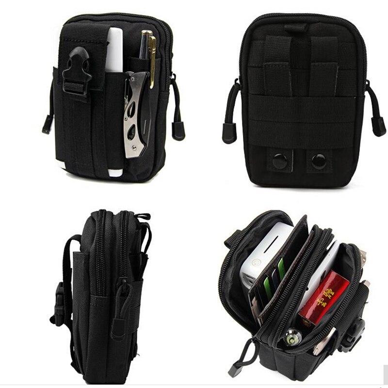 Black 3S Note 3 Pro Waist Belt Holster Case Wallet Purse Tactical Molle Pouch Utility Gadget bags For iPhone 6 6S 7 Plus