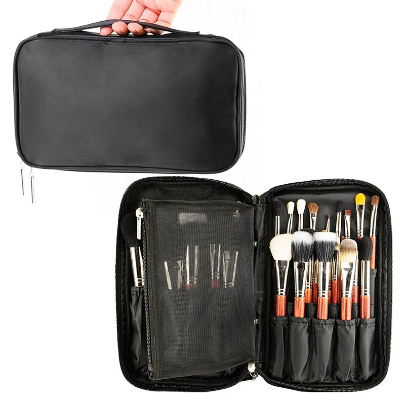 Bolsa de cosméticos profesional estuche de belleza cepillo de tocador organizador Neceser multifuncional bolsa de maquillaje para viaje y hogar