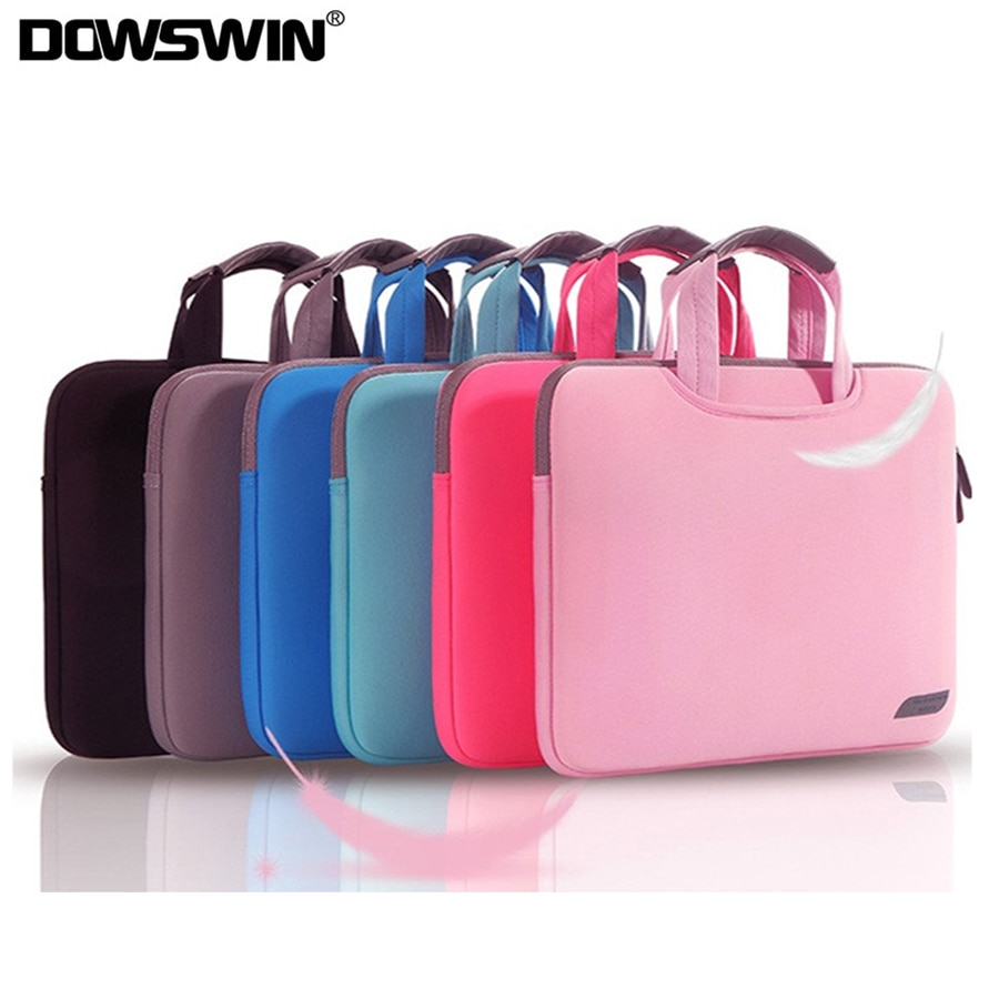 DOWSWIN Laptop Bag Case for Macbook Air Pro Retina 13 15 Laptop Sleeve 15.6 Notebook Bag For Dell Ac