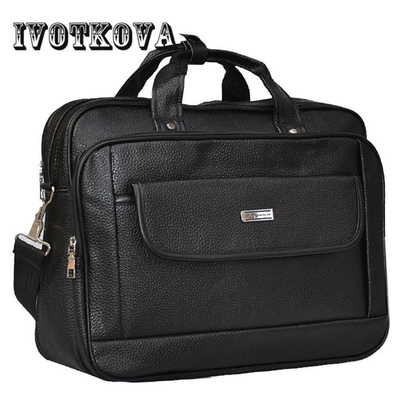2017 New Mens Handbags Fashion Business Shoulder Bags Men Messenger Bags High Quality Leather Briefcase Men Bag Free Delivery