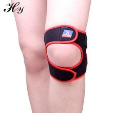 Quality Practical High Sports kneepad Black With Red Outdoor Travel Adjustable Knee Pad Protector Ou