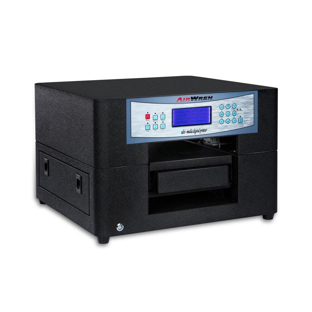 Impresora Eco solvente Mini A4 para la impresión de la caja del teléfono con Color hermoso