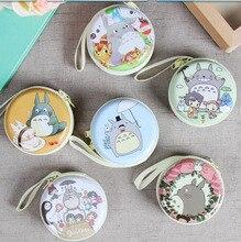 Livraison gratuite! 1 lot = 12 pc! boîte ronde en fer blanc de dessin animé japonais/petite pochette/porte-monnaie/portefeuille/cadeau pour enfants/étui en acier/porte-crayon