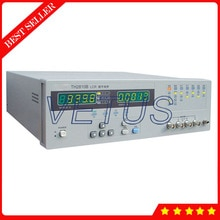 Medidor de digitas lcr th2810b 10khz instrumento de medição de impedância de uso geral com 2 pontos de frequência de impedância de saída 4