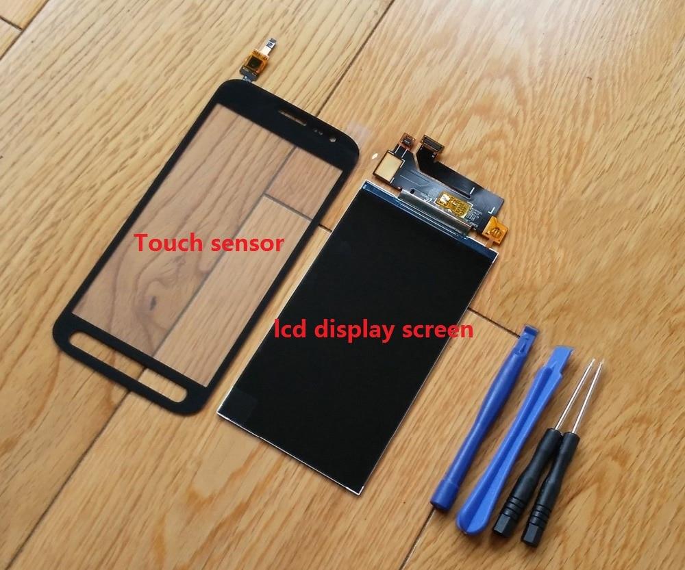 Sensor digitalizador táctil probado + pantalla LCD para Samsung Galaxy Xcover 4 SM-G390F G390 + pegatina + Kits