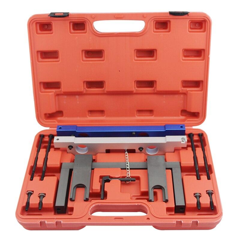 jtc набор фиксаторов распредвала для установки и регулировки фаз грм bmw n51 n52 n53 n54 oem bmw 114280 oem bmw 114290 vanos n51 n52 n55 jtc 4619ab Camshaft Alignment Engine Timing Locking Tool Kit For BMW N51 N52 N53 N54