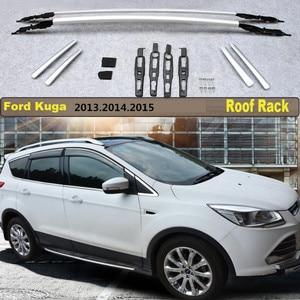 Roof Rack For Ford Kuga 2013 2014 2015 High Quality Rails Bar Luggage Carrier Bars top bar Racks Rail Boxes