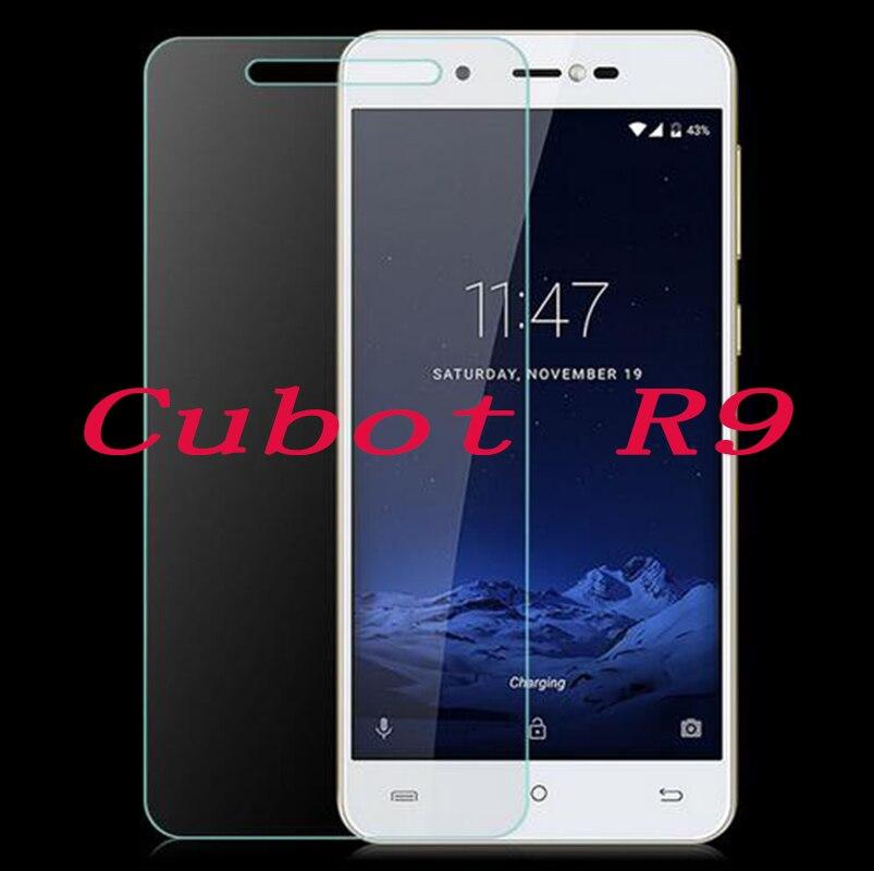 """2 uds nuevo teléfono Protector de pantalla para Cubot R9 5,0 """"cubierta de película protectora de vidrio templado para SmartPhone"""