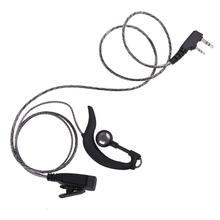 2 broches K Type écouteur casque avec PTT MIC talkie-walkie casque écouteur pour Kenwood BAOFENG Radio de haute qualité