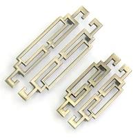 4pcs classic bathroom vanity cabinet pulls door handles drawer dresser knobs antique zinc alloy furniture handles