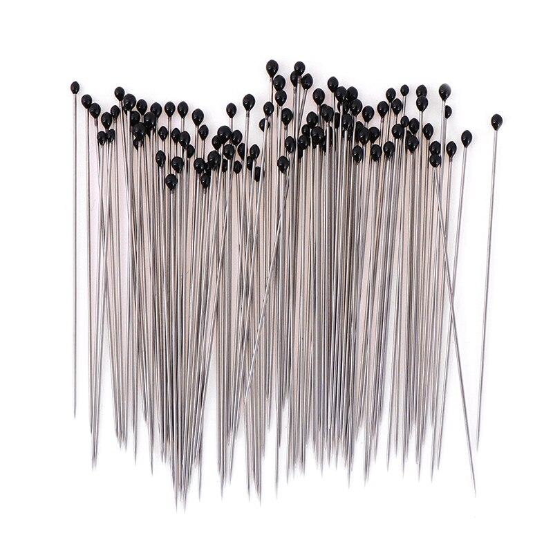 100 штук насекомое шпильки образцы шпильки из нержавеющей стали с пластиковой коробкой для школы лаборатории энтомология диссекция