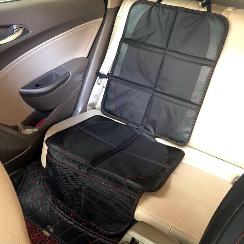 Oxford pvc algodão couro capa de assento do carro criança bebê crianças segurança protetor de assento automóvel esteira melhorada sujeira & repelente de água lavável