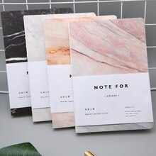 Creativo Ins Stile di Marmo Bianco Sketchbook Diario Disegno Pittura di Carta Notebook Schizzo Libro di Scuola Forniture per Ufficio Regalo