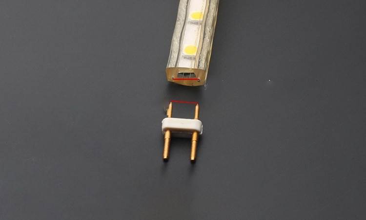 100 قطعة 301435285050 220 فولت ثانية خط عالية قابس طاقة LED مصباح في الهواء الطلق مقاوم للماء محول الطاقة التبديل مصباح