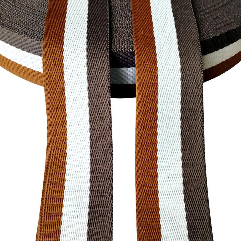 1 Yard  quality Thicker 50mm Nylon Ribbon Safety Belt Computer jacquard Ribbon Outdoor Backpack Bag Parts Webbing Safety Harnes