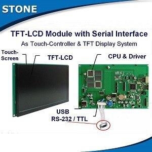 Placa de control con pantalla TFT LCD para el módulo de pantalla LCD táctil a Color