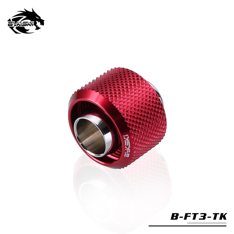 "BYKSKI Use for Inside Diameter 10mm + Outside Diameter 16mm Pipes 3/8''ID + 5/8""OD Soft Tube Fitting Hand Connector Fitting G1/4"