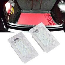 Compartiment lumineux pour Ford Focus MK1 II Fiesta   2 pièces xénon blanc 12V 6000K, coffre à bagages, phare