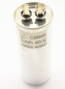 CBB65 SH 60uF 450VAC 50Hz acondicionador de aire de funcionamiento del Motor condensador