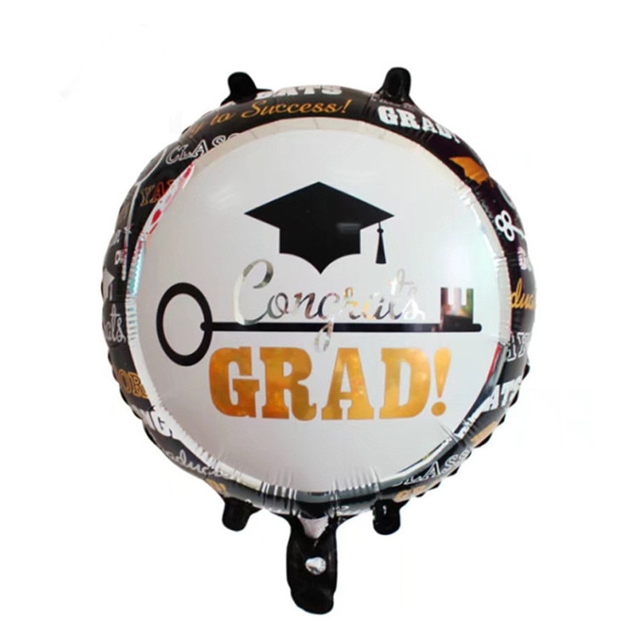 Good Luck Graduation Decor Balloons Foil/Helium Balloons for Children's Day Party Decor Kids Classic Toys