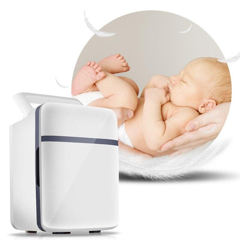 HCOOL 10L Мини Автомобильный холодильник многофункциональный домашний дорожный