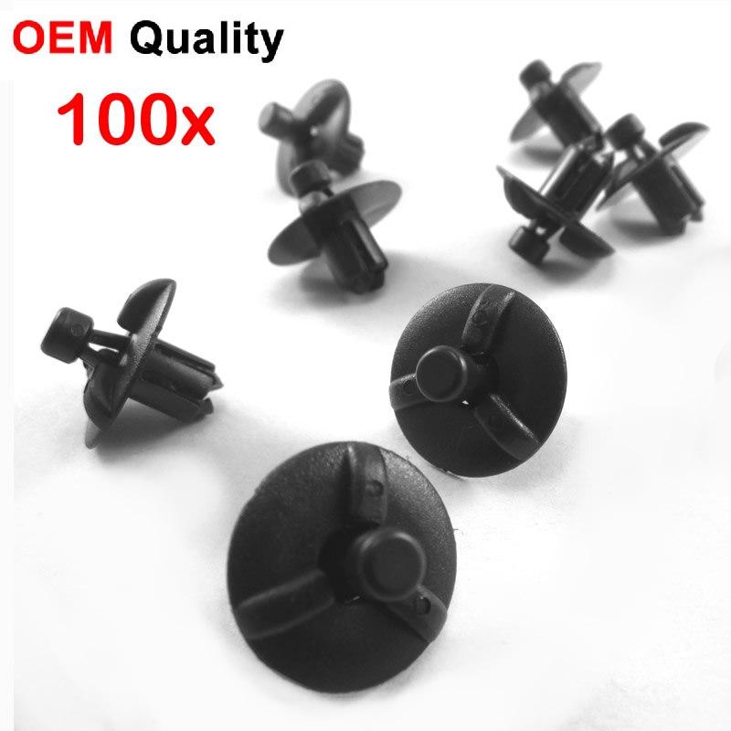 500x OEM tipo parachoques retenedor Clips 53259-0E010 para Lexus IS250 IS350 RX330 RX350 RX400H