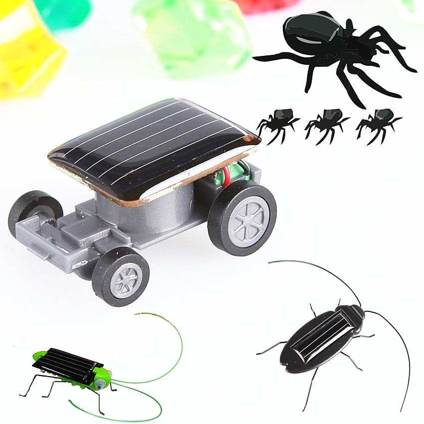 Детские игрушки на солнечной энергии, мощный робот-ковчег с героями мультфильмов, бешеный тараканчик, образовательная модель автомобиля, г...