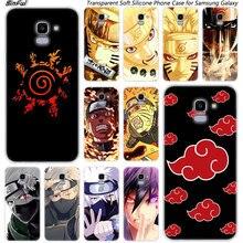 Hot Anime Naruto Zachte Siliconen Telefoon Geval Voor Samsung Galaxy J8 J6 J4 2018 J2 Core J5 J6 J7 Prime j3 2016 2017 EU J4 Plus Cover